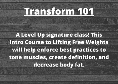 Transform 101